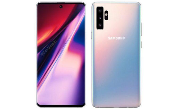 Samsung Galaxy Note 10: nuovi dettagli sulle fotocamere posteriori