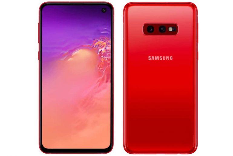 Galaxy S10e, Samsung sta per lanciare la variante di colore Cardinal Red