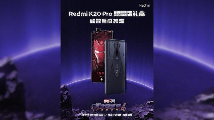 Redmi K20 Pro Marvel Hero: annunciata l'edizione limitata