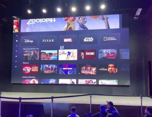 Disney+ in Italia: mostrata la grafica dell'interfaccia della piattaforma