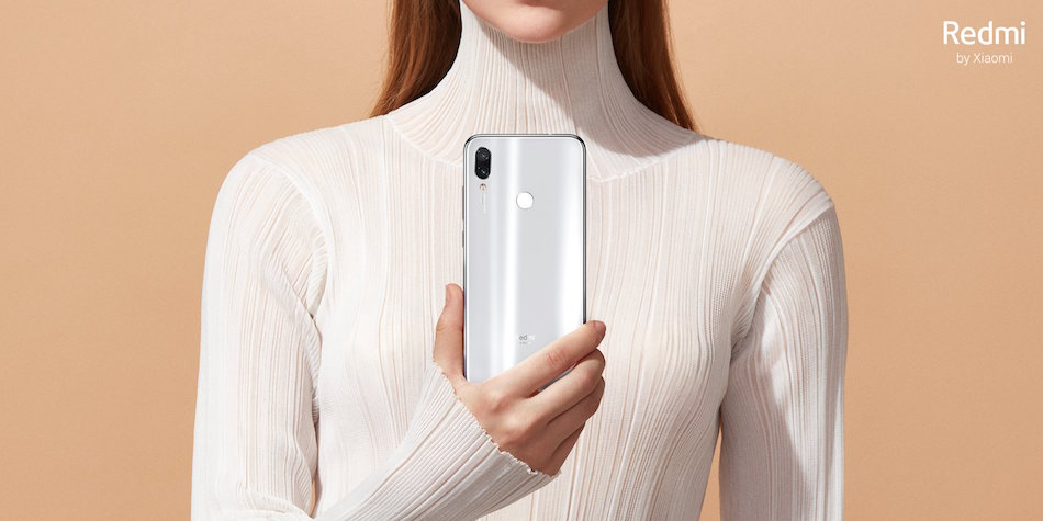 Redmi Note 7 Moonlight White