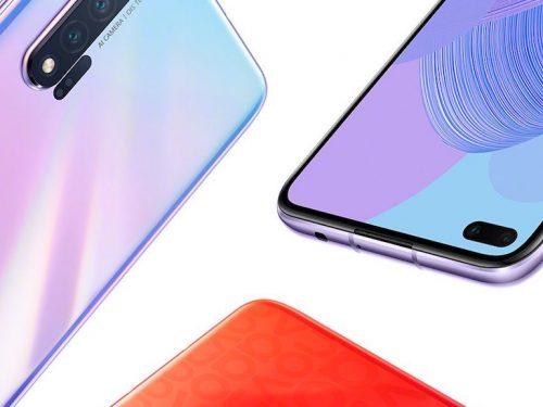 Huawei Nova 6 5G: svelate le colorazioni ufficiali