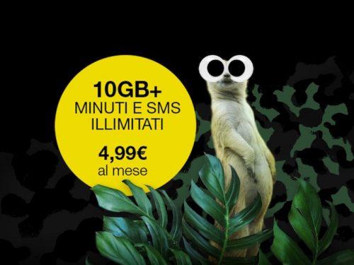 Offerte PosteMobile: minuti illimitati e 10 Giga a 4,99 euro