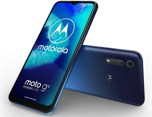 Motorola Moto G8 Power Lite ufficiale con batteria da 5000 mAh