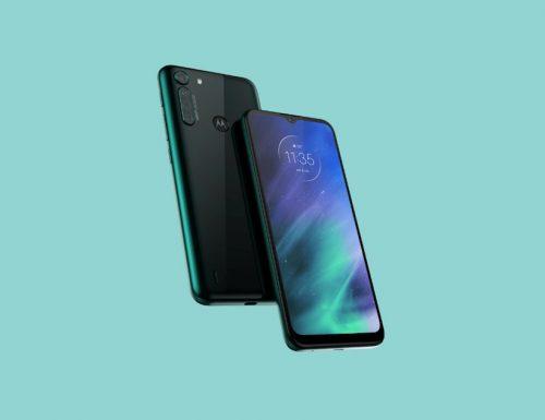 Motorola One Fusion ufficiale con batteria da 5000 mAh