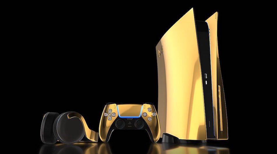 PlayStation 5: annunciata la versione speciale in oro 24 carati