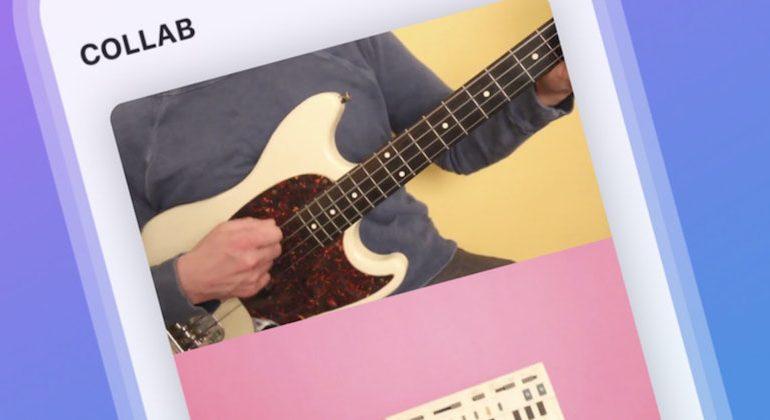Facebook lancia Collab, un'app per creare video musicali