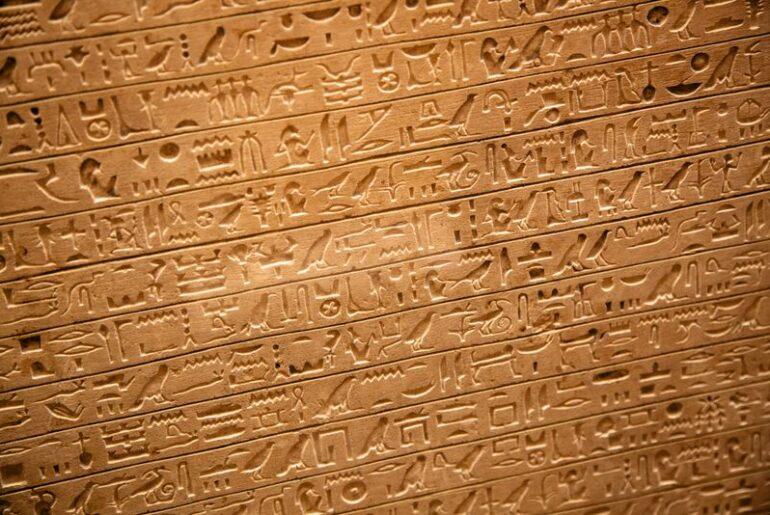 Come si leggono i geroglifici?