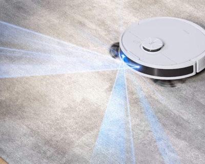 Il robot aspirapolvere e lavapavimenti Ecovacs N8 Pro con doppio sensore