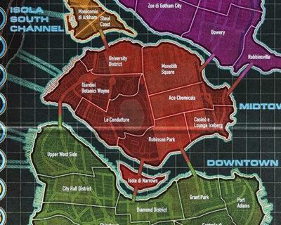 Arriva la nuova edizione limitata di RisiKo a tema Batman